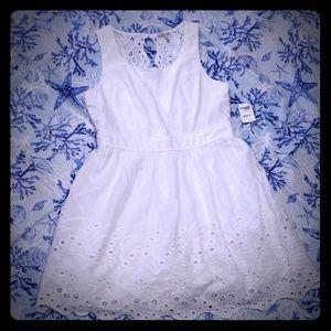 Charlotte  Russe white eyelet dress